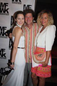 M. Goldyn (Euro Club Canada, Desginer Sarah Splinter and Model